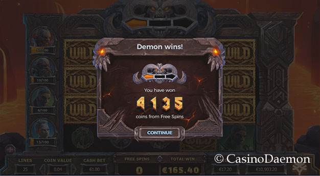 Vikings Go To Hell slot screenshot 3