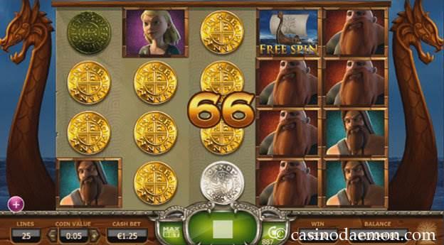 Vikings Go Wild slot screenshot 1