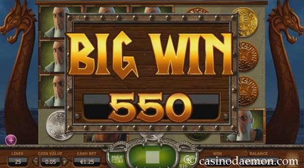 Vikings Go Wild slot screenshot 2