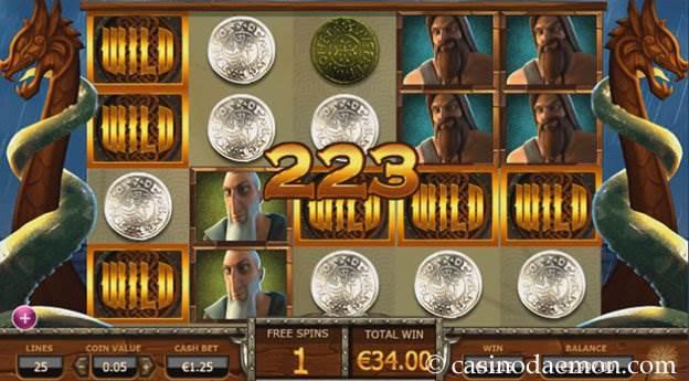 Vikings Go Wild slot screenshot 3