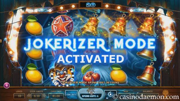 Wicked Circus slot screenshot 1