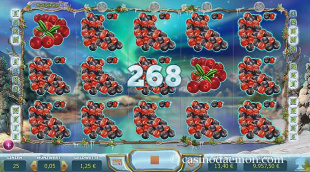 Winterberries Spielautomat screenshot 1