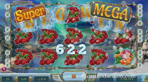 Winterberries Spielautomat screenshot 2