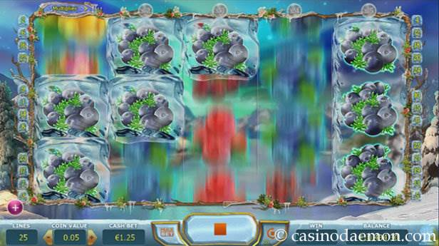Winterberries slot screenshot 1