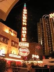 Golden Gate Hotel in Las Vegas