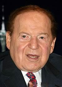 Sheldon Adelson, source: Wikipedia
